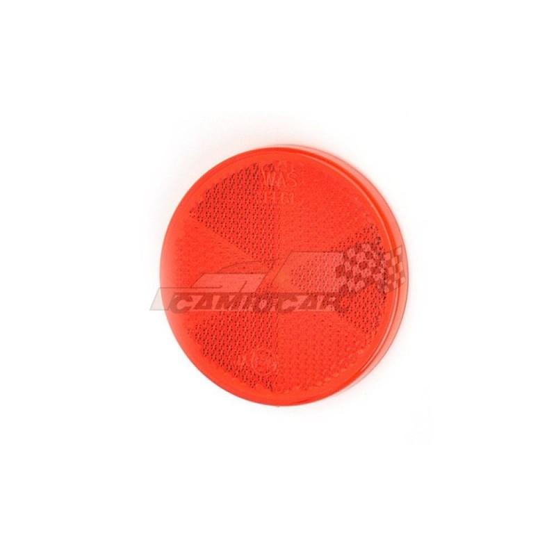 Reflectantes-Catadióptico redondo con adhesivo
