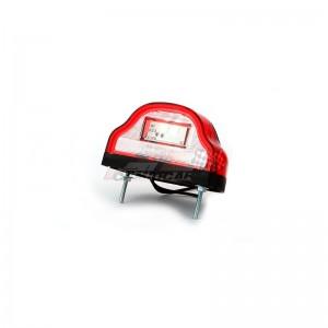 Luz matrícula y posición LED