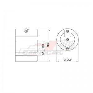 Deflector de aire Iveco Stralis AS