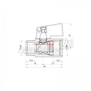 Jgo. Embellecedores perfil cabina DAF 106 E6