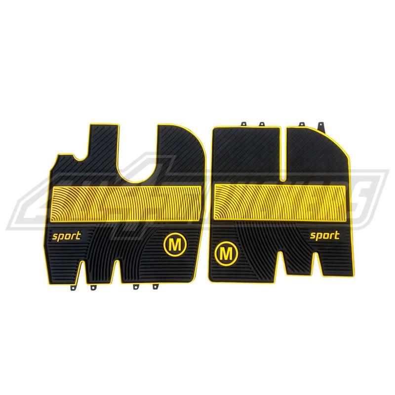 Scania R Alfombrillas PVC amarillas