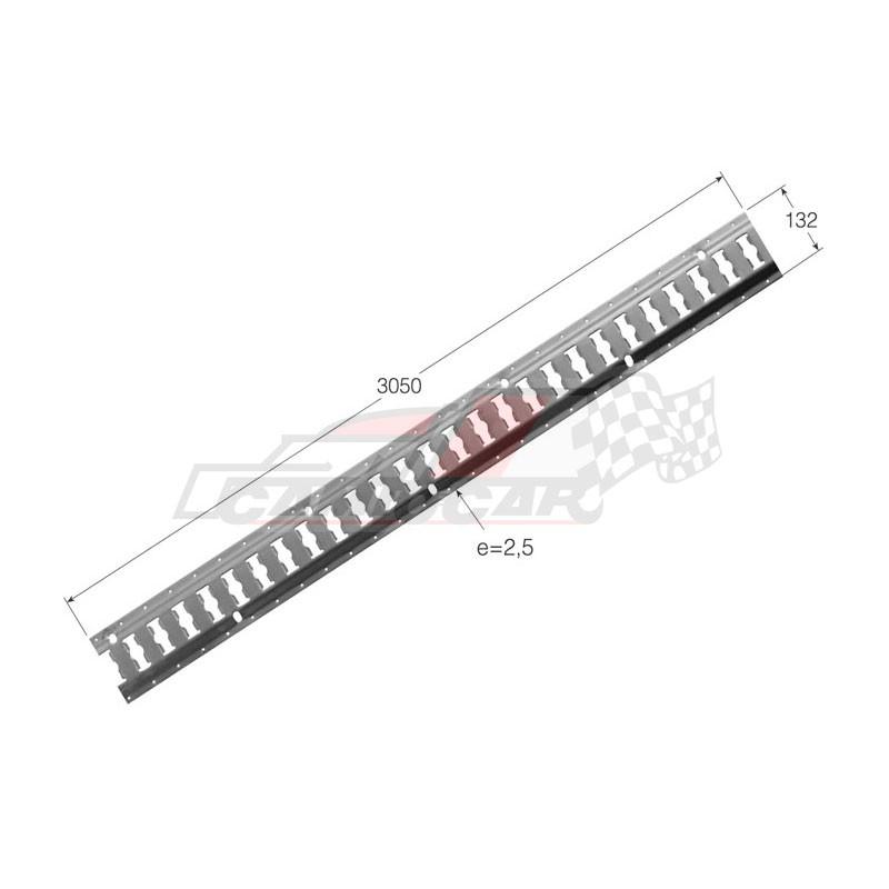 Guía de amarre 132x3050x2,5mm