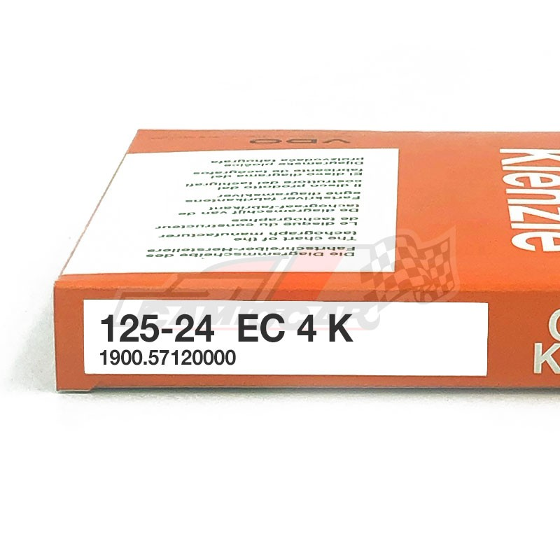 125-24 EC 4K - Discos tacógrafo