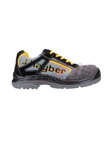 Calzado de seguridad-Jhayber Maverick S1P SRC Gris-Negro