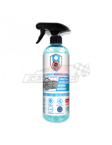 Covid-19-Spray higienizante hidroalcohólico 750ml