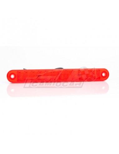 Piloto trasero LED rojo barra Fristom...