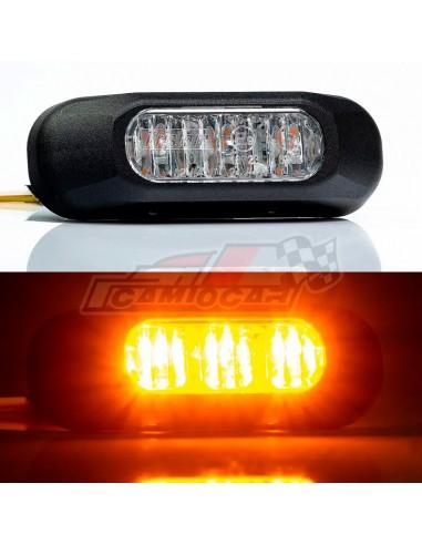Piloto estroboscópico LED ámbar...