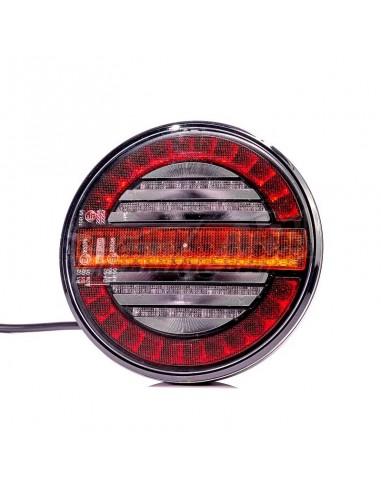 Piloto LED redondo universal trasero...