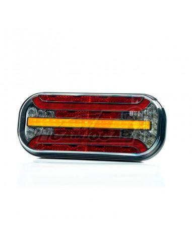 Piloto LED trasero universal 6...