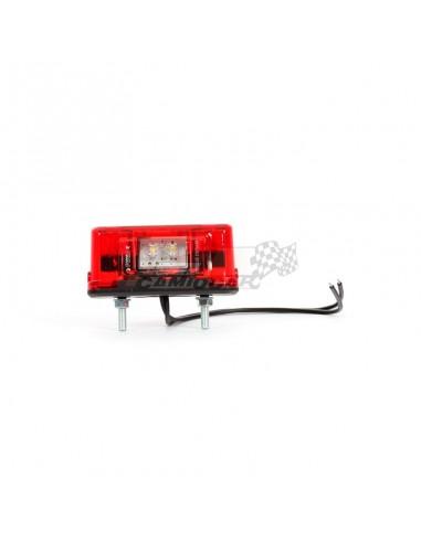 Piloto matrícula y posición LED