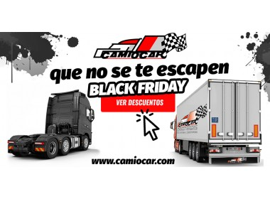 Black Friday 2018 en Camiocar