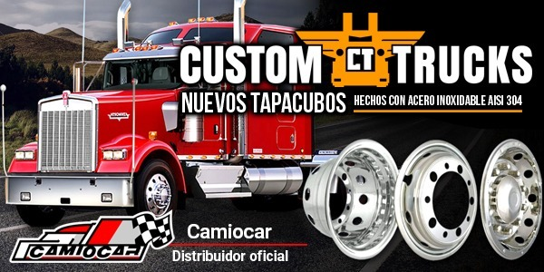 Tapacubos inoxidables Custom Trucks